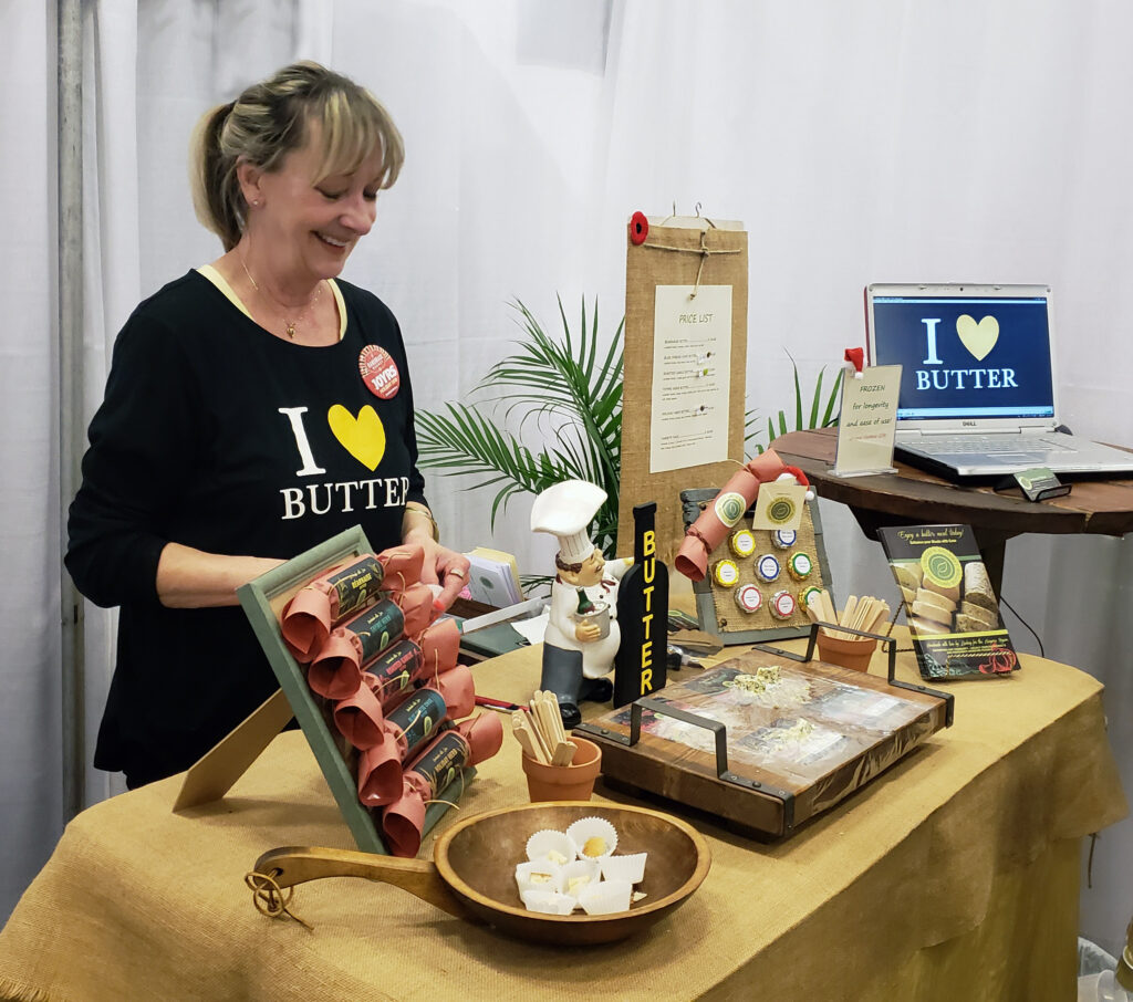 Lindsay's Gourmet Compound Butter at the Handmade Market